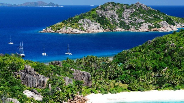 Set sail in the Seychelles